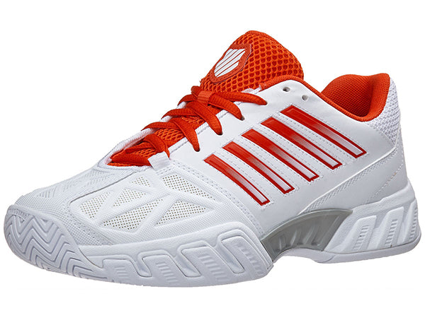 K-Swiss Bigshot Light 3 Women's Shoe Fiesta Red/White 95366-183