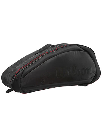 Wilson Federer Team 6pk Bag Black/Red 2017