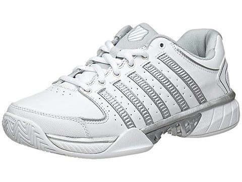 K-Swiss Hypercourt Express LTR White/Grey Women's Shoes 93379-107