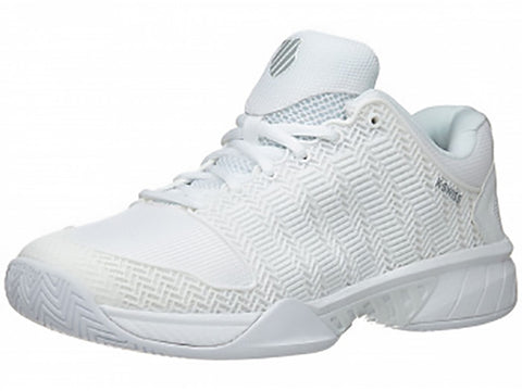 K-Swiss Hypercourt Express Mens Tennis Shoe White/Highrise 03377-107