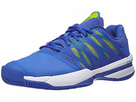 K-Swiss Ultrashot Strong Blue/Neon Citron Men's Shoe 05648-445