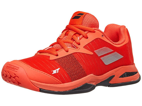 Babolat Jet All Court Junior Shoes Orange.com
