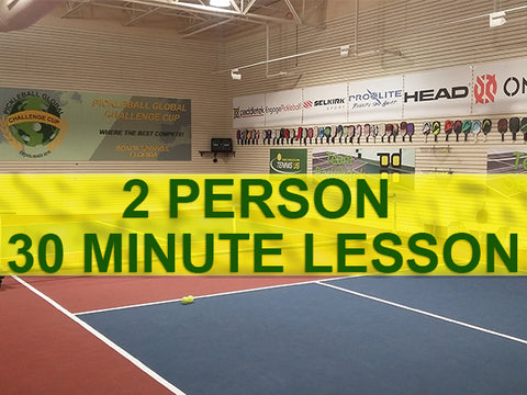 2 Person, Semi-Private Lesson - 30 Minutes