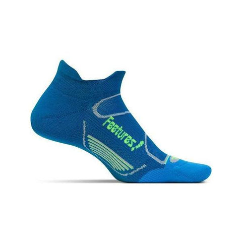 Socks - Feetures! Elite Light Cushion No Show Tab /Pacific/Blue Reflector
