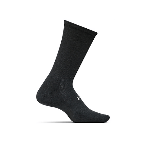 Socks - Feetures! High Performance Light Cushion Crew /Black