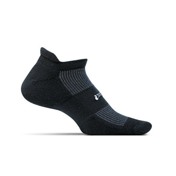 Socks - Feetures! High Performance Light Cushion No Show /Black
