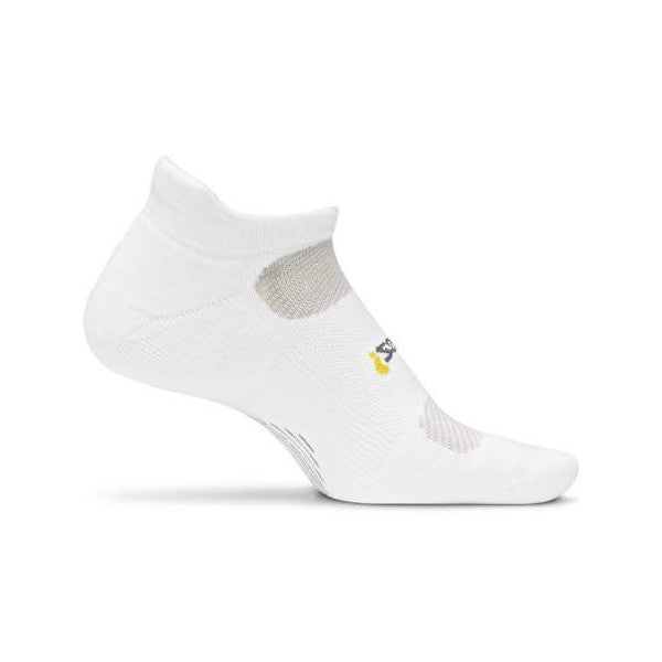 Socks - Feetures! High Performance Light Cushion No Show Tab White