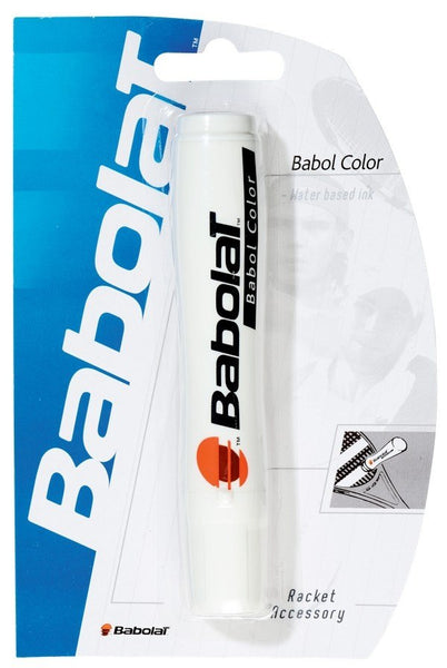 Stencil And Ink - Babolat Color Stencil Ink White