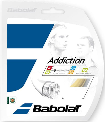 Strings - Babolat Addiction 16 String Natural