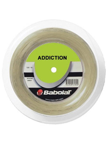 Strings - Babolat Addiction 17 Reel String Natural