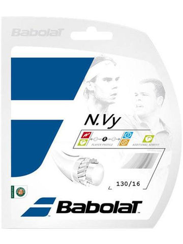 Strings - Babolat N.Vy 16 String White