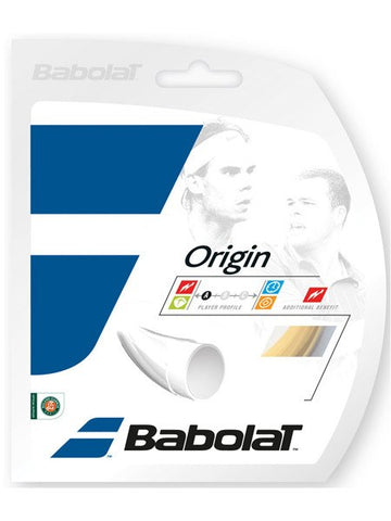 Strings - Babolat Origin 16 String Natural