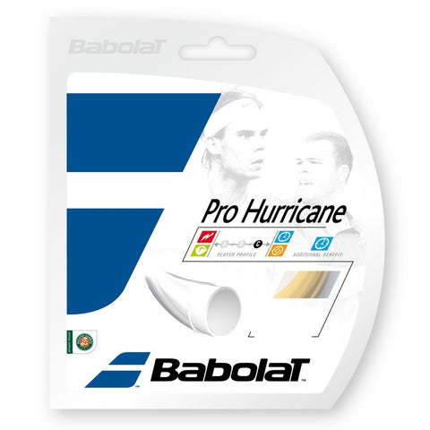 Strings - Babolat Pro Hurricane 18 String Natural