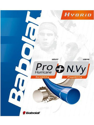Strings - Babolat Pro Hurricane + N.Vy 17/16 String