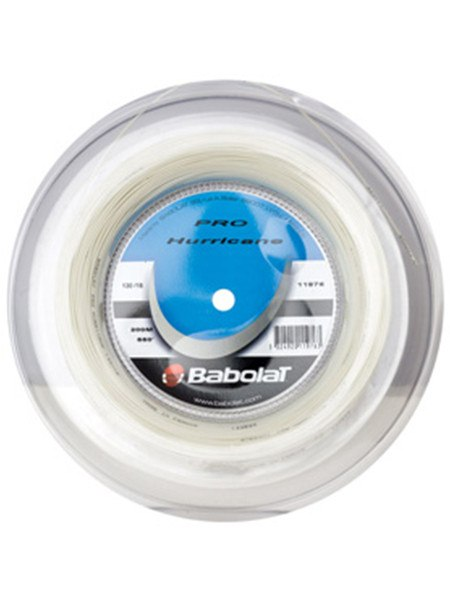 Strings - Babolat Pro Hurricane Reel 16 String Natural