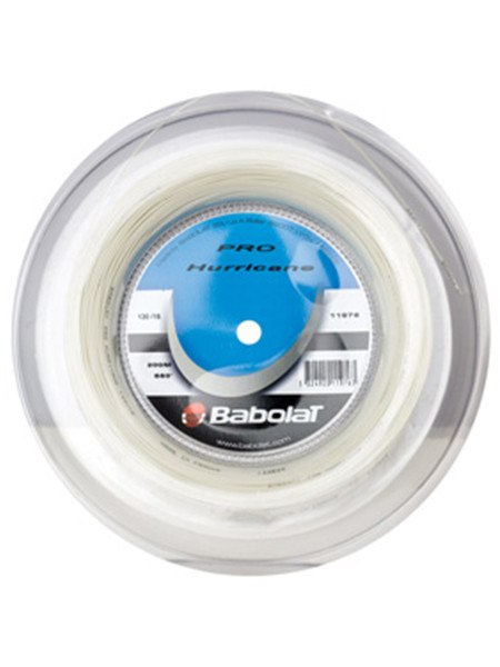 Strings - Babolat Pro Hurricane Reel 18 String Natural
