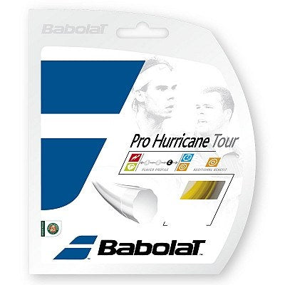 Strings - Babolat Pro Hurricane Tour 16 String Yellow