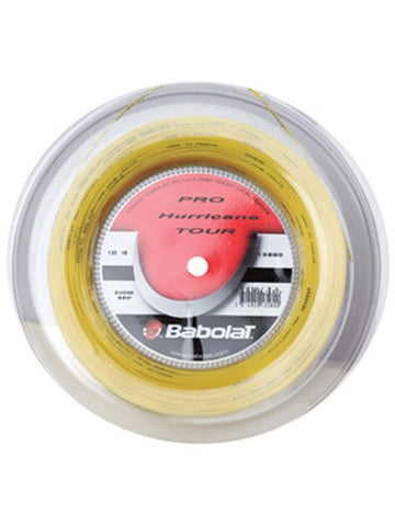 Strings - Babolat Pro Hurricane Tour 17 Reel String Yellow
