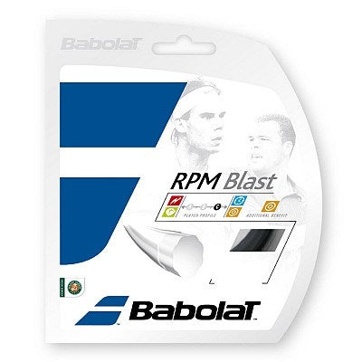 Strings - Babolat RPM Blast 16 String Black
