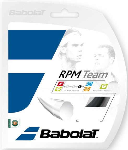 Strings - Babolat RPM Team 17 String Black