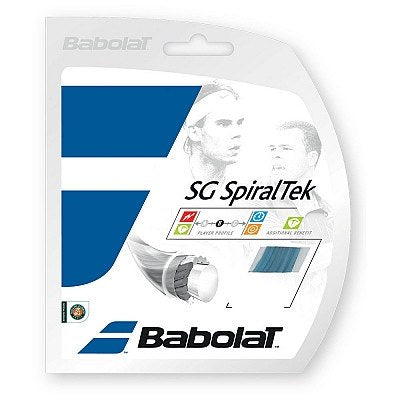 Strings - Babolat SG SpiralTek 16 String Blue