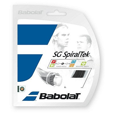 Strings - Babolat SG SpiralTek 17 String Black