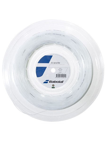 Strings - Babolat Spiraltek 16 Reel String White