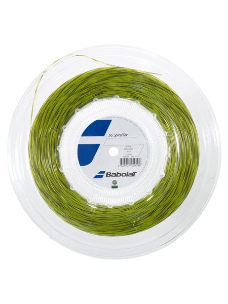 Strings - Babolat Spiraltek 16 Reel String Yellow