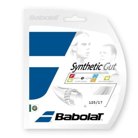 Strings - Babolat Synthetic Gut 17 String White