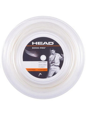 Strings - Head Sonic Pro 17 Reel String White