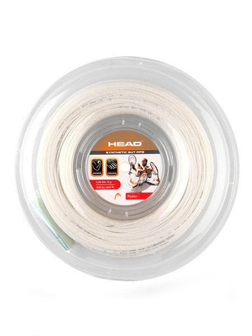 Strings - Head Synthetic Gut PPS 17 Reel String White