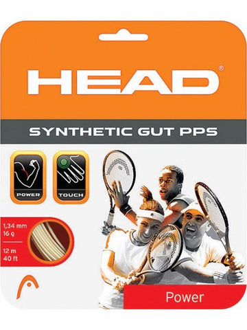 Strings - Head Synthetic Gut PPS 17 String White