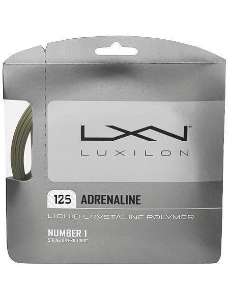 Strings - Luxilon Adrenaline Rough 16L String