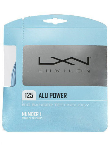 Strings - Luxilon ALU Power 16L String Blue