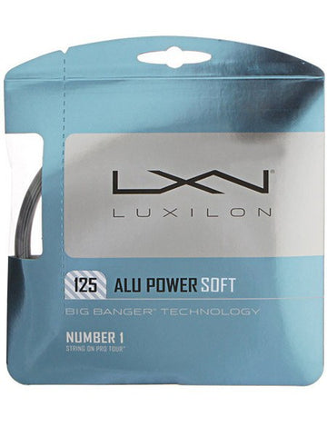 Strings - Luxilon ALU Power Soft 16L String