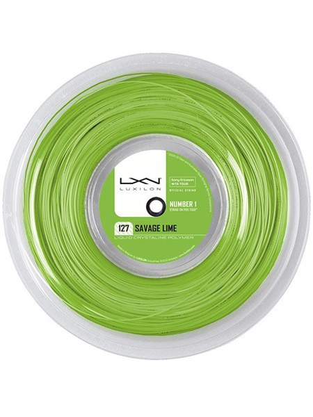 Strings - Luxilon Savage Lime 16L Reel String