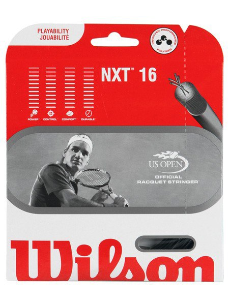 Strings - Wilson NXT 16 String Black