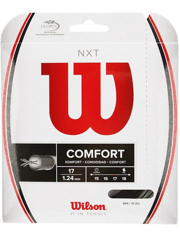 Strings - Wilson NXT 17 String Black