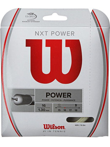 Strings - Wilson NXT Power 16 String