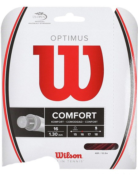 Strings - Wilson Optimus 16 String Red