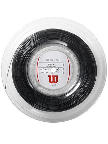 Strings - Wilson Revolve 16 Reel String Black