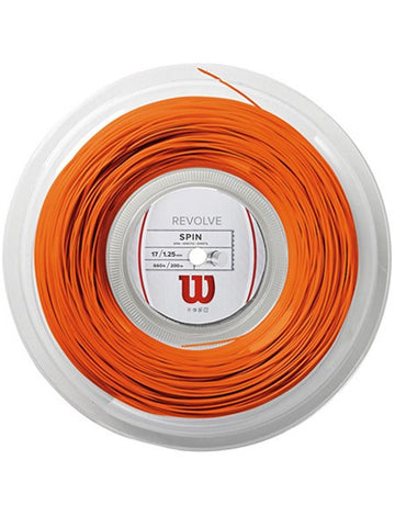 Strings - Wilson Revolve 17 Reel String Orange