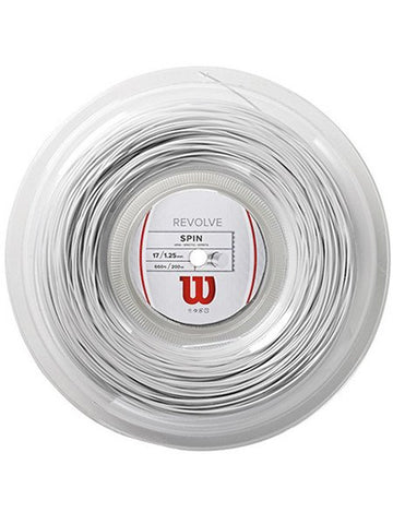 Strings - Wilson Revolve 17 Reel String White