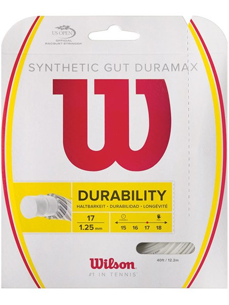 Strings - Wilson Synthetic Gut Duramax 17 String