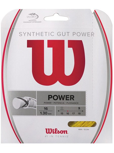 Strings - Wilson Synthetic Gut Power 16 String Gold