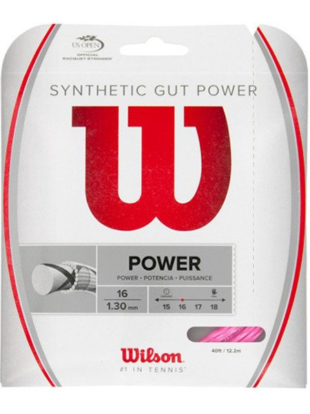 Strings - Wilson Synthetic Gut Power 16 String Pink