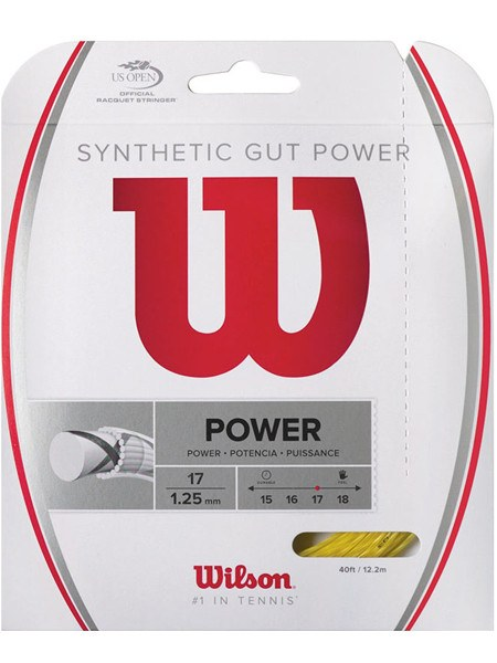 Strings - Wilson Synthetic Gut Power 17 String Gold