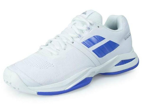 Babolat Propulse Blast All Court Womens Tennis Shoe White/Wedgewood