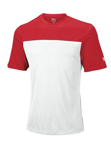 Wilson Men's Team Crew Red/White/White WRA725112