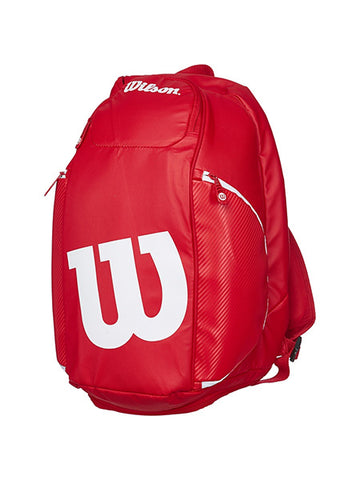 Wilson Vancouver Pro Staff Red/White Backpack Bag